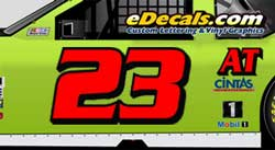 Stock Car Numbers