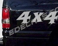 ACC225 4x4 Decal