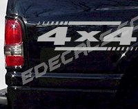 ACC233 4x4 Decal