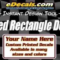Custom Printed Bulk Oval Sticker Decals