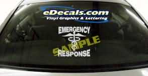 Volunteer Firefighter Cartoon Decal CRT322