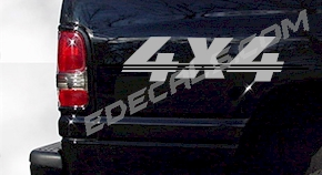 ACC222 4x4 Decal