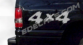 ACC226 4x4 Decal