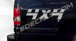 ACC229 4x4 Decal