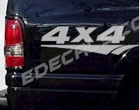 ACC231 4x4 Decal