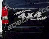 ACC232 4x4 Decal