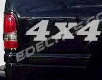ACC234 4x4 Decal