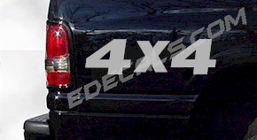 ACC237 4x4 Decal