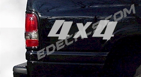 ACC240 4x4 Decal