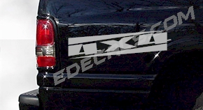 ACC241 4x4 Decal