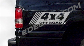 ACC242 4x4 Decal