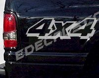 ACC243 4x4 Decal
