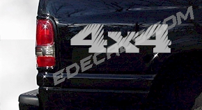 ACC245 4x4 Decal