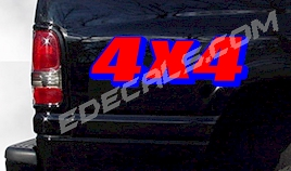 ACC358 Two Color 4x4 Decal