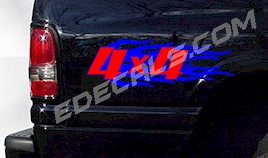 ACC360 Two Color 4x4 Decal