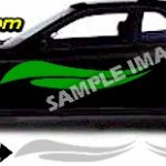ACC484 Flame Accent Graphic Decal