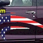ACC903 USA Striped Accent Decal