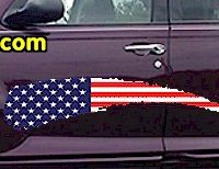 ACC914 USA Striped Accent Decal