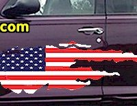 ACC917 USA Striped Accent Decal