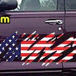 ACC918 USA Striped Accent Decal