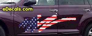 ACC920 USA Striped Accent Decal