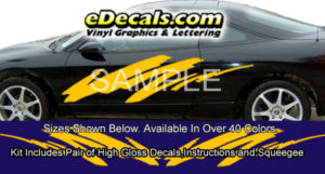 BSA104 Slope Full Body Accent Graphic Decal Kit