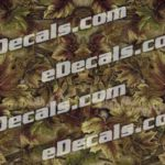 CAM202 Camoflage Printed Vinyl Material - Leafy Moss