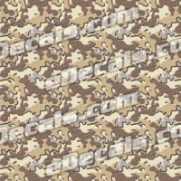 CAM204 Camoflage Printed Vinyl Material - Urban Sand