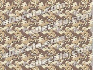CAM204 Camoflage Printed Vinyl Material - Urban Sand