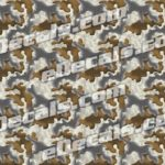 CAM206 Camoflage Printed Vinyl Material - Urban Trench