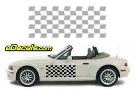 CFG106 Checkered Flag Decal