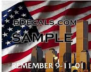 CNF217 WTC Memorial Decal