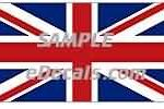 CNF307 Great Britain Flag Decal