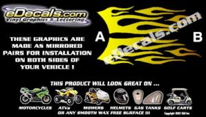 COL106 Color Fade Accent Decal