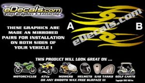 COL107 Color Fade Accent Decal