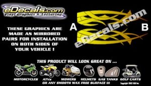 COL108 Color Fade Accent Decal