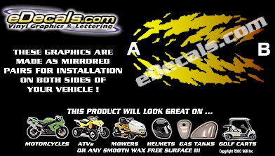 COL120 Color Fade Accent Decal