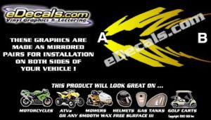 COL121 Color Fade Accent Decal