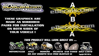 COL125 Color Fade Accent Decal