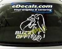 CRT103 Buzzard Cartoon Decal