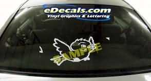 CRT108 Bird Cartoon Decal