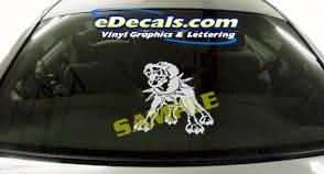 CRT114 Dog Cartoon Decal