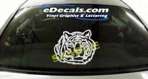 CRT115 Tiger Cartoon Decal