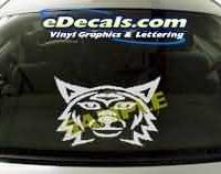 CRT117 Cat Cartoon Decal