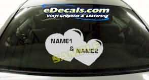 CRT173 Heart Cartoon Decal