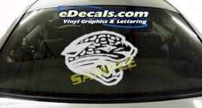 CRT208 Jaguar Cartoon Decal