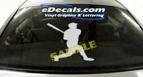 CRT209 Baseball Cartoon Decal