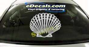 CRT220 Shell Cartoon Decal