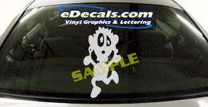 CRT550 Spinelli Cartoon Decal