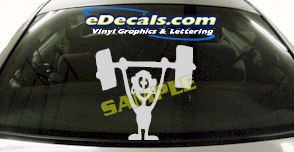 CRT567 Spinelli Cartoon Decal